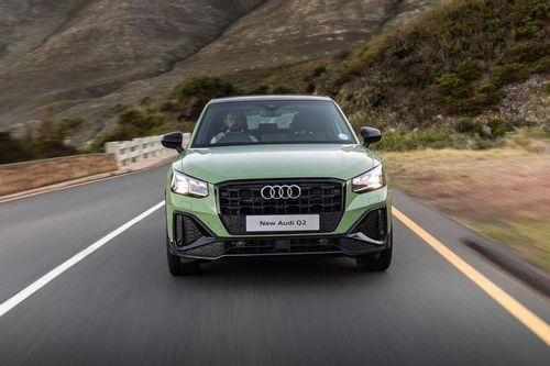 The small and compact Audi Q2 gets a facelift