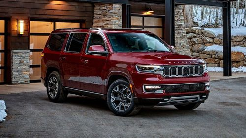 The all-new Jeep Wagoneer makes its debut