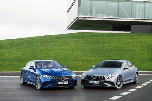 The Mercedes-Benz CLS gets a facelift