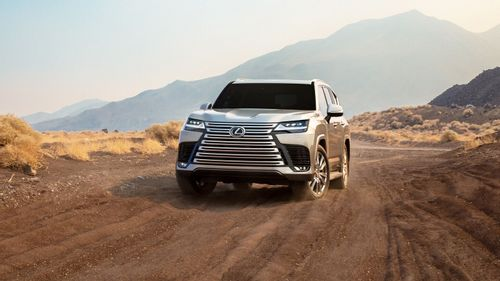 All-new Lexus LX unveiled as brand's flagship SUV
