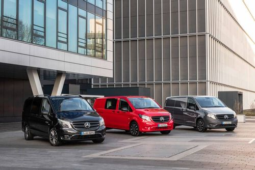 The Mercedes-Benz Vito receives afacelift