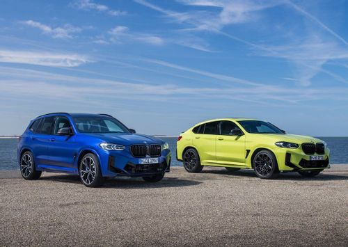 High-riding M twins: BMW lifts the lid on the updated X3 M and X4 M Competition