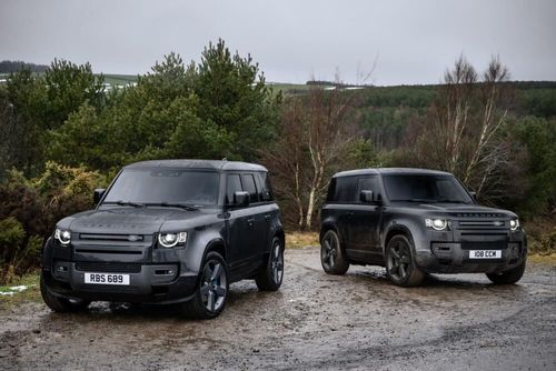 A more powerful Defender V8 with special editions joins the range