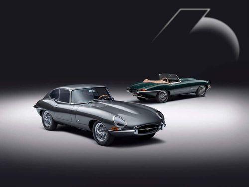 Jaguar Classic reveals E-TYPE 60 Collection