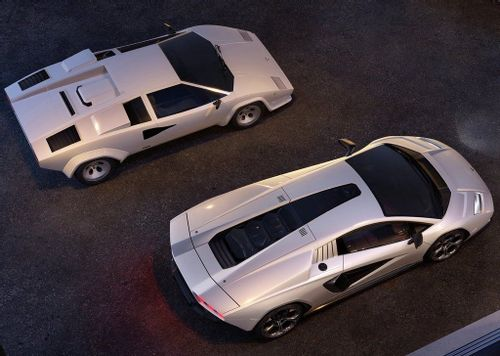 The 80s are back: Lamborghini unveils new Countach LPI800-4 with retro styling