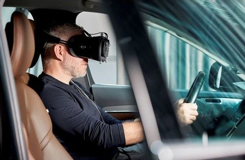 Volvo uses gaming technology to make their cars safer