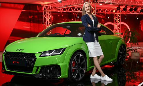 The Audi Red Rhombus
