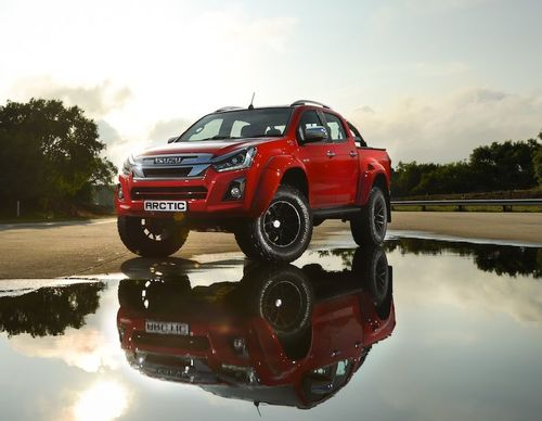 UNSTOPPABLE – Isuzu D-MAX Arctic AT 35