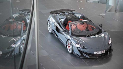 20,000 UP! - McLaren 600LT Spider