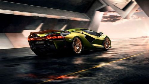 Lamborghini's First Hybrid Officially Revealed