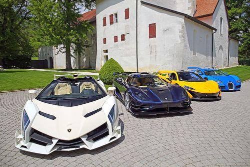 R350-million Seized Supercar Auction