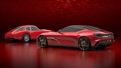 R100-million Aston Martin DBZ Centenary Collection