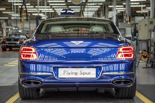 Bentley Flying Spur Enters Production
